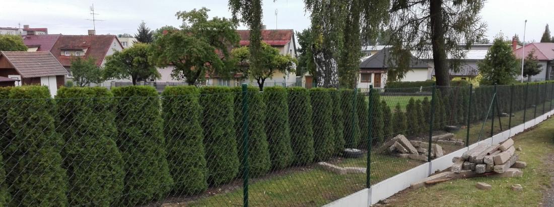 Stavba plotů Jindřichův Hradec